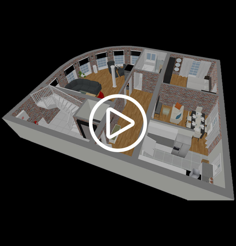 3D Panorama View | 3D Rundgang Immobilie