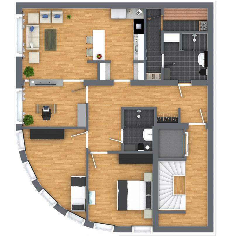 Grundriss Immobilien | Grundriss zeichnen lassen | Grundriss Erstellung