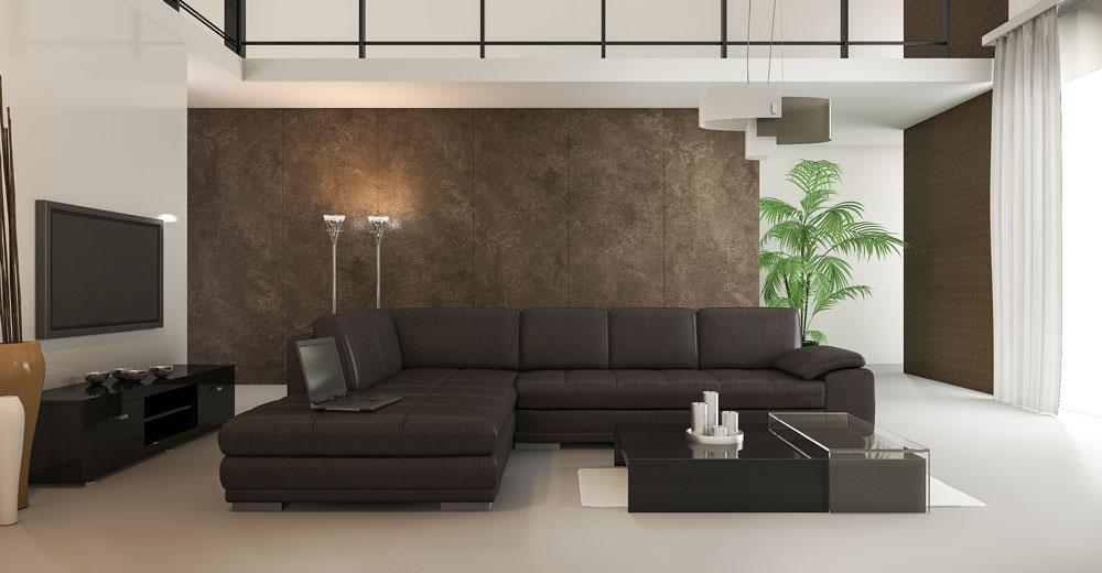 Immobilie - Loft 3D Visualisierung | Wohnzimmer | Neubauplanung 3D Modelle